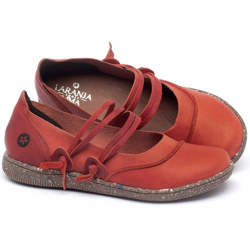 Laranja_Lima_Shoes_Sapatos_Femininos_Sapatilha_Alternativa_em_Couro_Vermelho_-_Codigo_-_137267_1