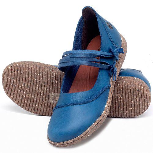 Laranja_Lima_Shoes_Sapatos_Femininos_Sapatilha_Alternativa_em_Couro_Azul_-_Codigo_-_137267_2