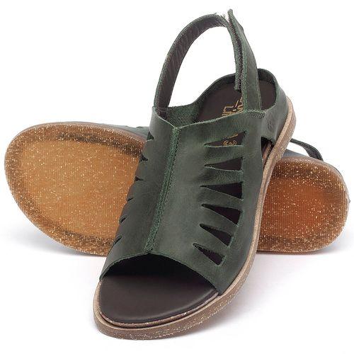 Laranja_Lima_Shoes_Sapatos_Femininos_Sandalia_Rasteira_Flat_em_Couro_Verde_-_Codigo_-_137284_2