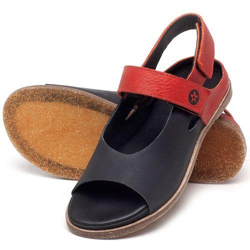 Laranja_Lima_Shoes_Sapatos_Femininos_Sandalia_Rasteira_Flat_em_Couro_Azul_-_Codigo_-_137287_2