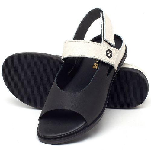 Laranja_Lima_Shoes_Sapatos_Femininos_Sandalia_Rasteira_Flat_em_Couro_P_-_B_-_Codigo_-_137287_2