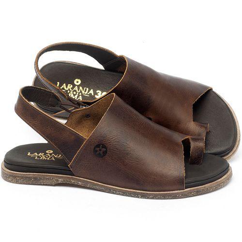 Laranja_Lima_Shoes_Sapatos_Femininos_Sandalia_Rasteira_Flat_em_Couro_Marrom_-_Codigo_-_137304_1