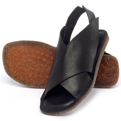 Laranja_Lima_Shoes_Sapatos_Femininos_Sandalia_Rasteira_Flat_em_Couro_Preto_-_Codigo_-_141162_2