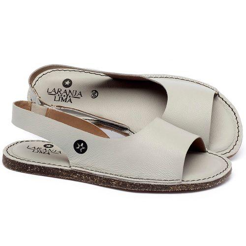 Laranja_Lima_Shoes_Sapatos_Femininos_Sandalia_Rasteira_Flat_em_Couro_Off-White_-_Codigo_-_141163_1