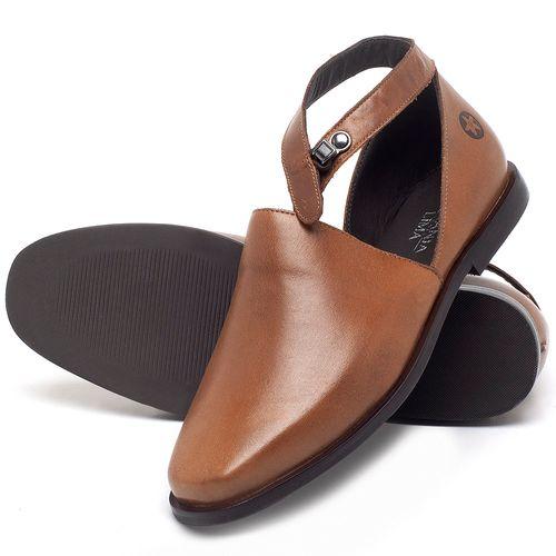 Laranja_Lima_Shoes_Sapatos_Femininos_Sapatilha_Bico_Fino_em_Couro_Caramelo_-_Codigo_-_136090_2