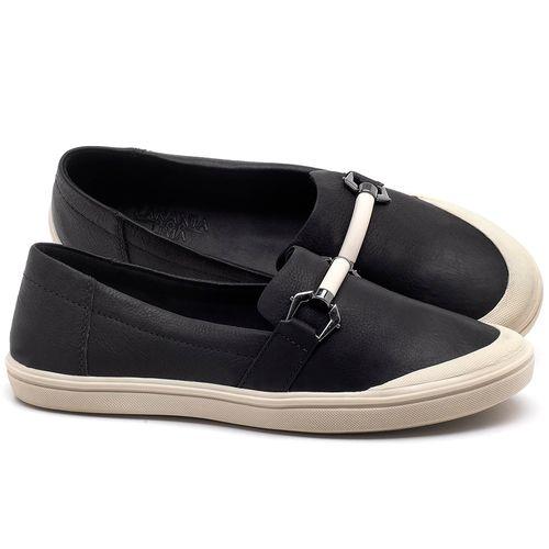Laranja_Lima_Shoes_Sapatos_Femininos_Tenis_Cano_Baixo_em_Couro_Preto_-_Codigo_-_56184_1