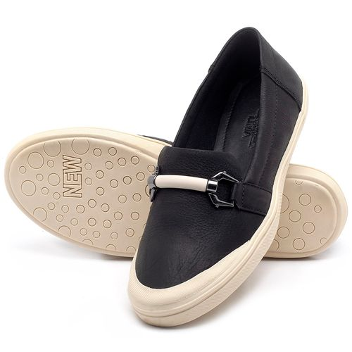 Laranja_Lima_Shoes_Sapatos_Femininos_Tenis_Cano_Baixo_em_Couro_Preto_-_Codigo_-_56184_2
