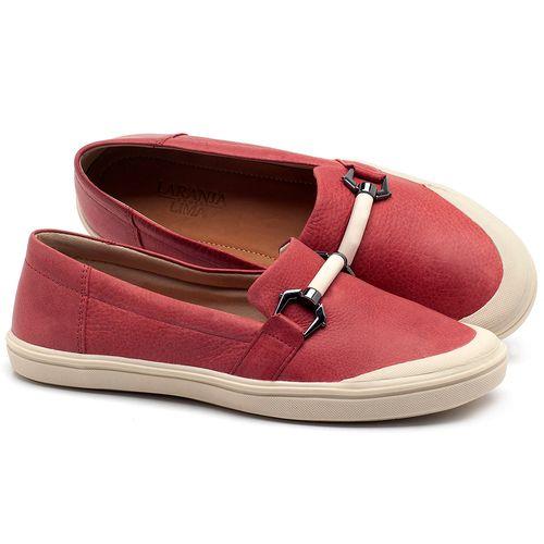 Laranja_Lima_Shoes_Sapatos_Femininos_Tenis_Cano_Baixo_em_Couro_Vermelho_-_Codigo_-_56184_1