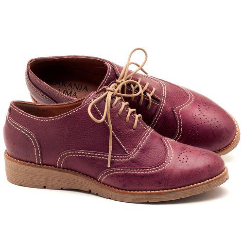 Laranja_Lima_Shoes_Sapatos_Femininos_Oxford_Laranja_Lima_Shoes_Salto_de_3_cm_em_Couro_Vinho_-_Codigo_-_3592_1