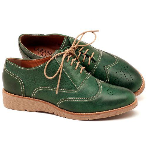 Laranja_Lima_Shoes_Sapatos_Femininos_Oxford_Laranja_Lima_Shoes_Salto_de_3_cm_em_Couro_Verde_-_Codigo_-_3592_1