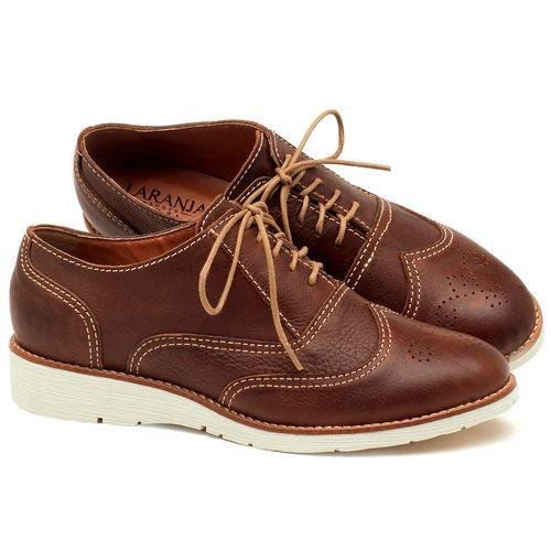 Laranja_Lima_Shoes_Sapatos_Femininos_Oxford_Laranja_Lima_Shoes_Salto_de_3_cm_em_Couro_Marrom_-_Codigo_-_3592_1