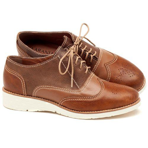 Laranja_Lima_Shoes_Sapatos_Femininos_Oxford_Laranja_Lima_Shoes_Salto_de_3_cm_em_Couro_Bicolor_-_Codigo_-_3592_1