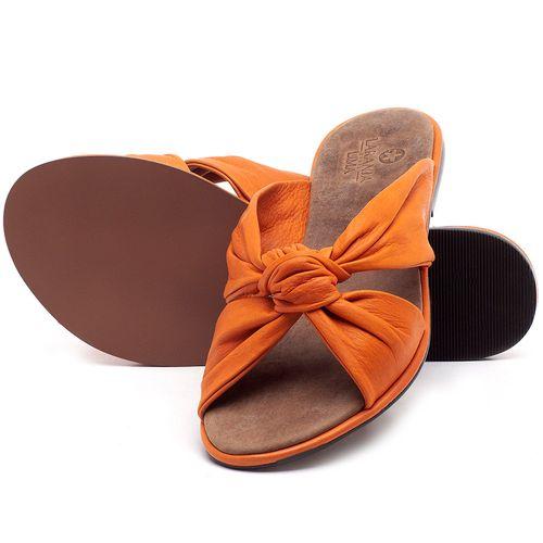 Laranja_Lima_Shoes_Sapatos_Femininos_Sandalia_Rasteira_Flat_em_Couro_Laranja_-_Codigo_-_3669_2