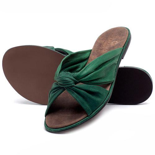 Laranja_Lima_Shoes_Sapatos_Femininos_Sandalia_Rasteira_Flat_em_Couro_Verde_-_Codigo_-_3669_2