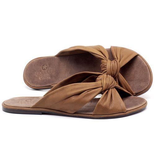 Laranja_Lima_Shoes_Sapatos_Femininos_Sandalia_Rasteira_Flat_em_Couro_Marrom_-_Codigo_-_3669_1