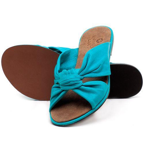 Laranja_Lima_Shoes_Sapatos_Femininos_Sandalia_Rasteira_Flat_em_Couro_Azul_-_Codigo_-_3669_2