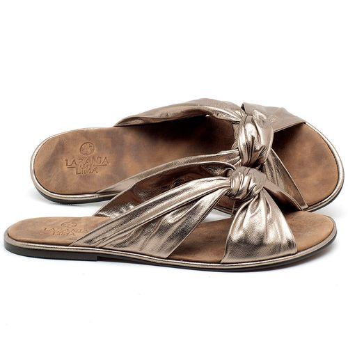 Laranja_Lima_Shoes_Sapatos_Femininos_Sandalia_Rasteira_Flat_em_Couro_Metalizado_-_Codigo_-_3669_1