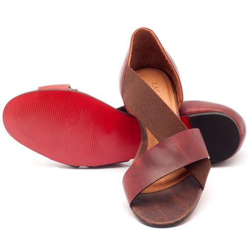 Laranja_Lima_Shoes_Sapatos_Femininos_Sandalia_Rasteira_Flat_em_Couro_Vermelho_-_Codigo_-_56121_2