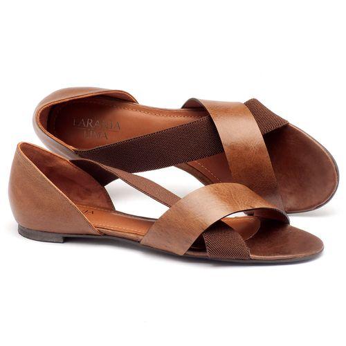 Laranja_Lima_Shoes_Sapatos_Femininos_Sandalia_Rasteira_Flat_em_Couro_Caramelo_-_Codigo_-_56121_1