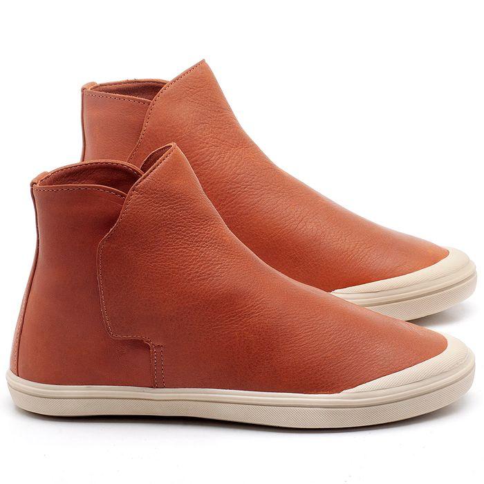 Laranja_Lima_Shoes_Sapatos_Femininos_Tenis_Cano_Alto_em_Couro_Laranja_-_Codigo_-_56092_1