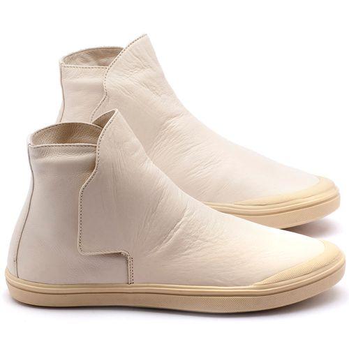 Laranja_Lima_Shoes_Sapatos_Femininos_Tenis_Cano_Alto_em_Couro_Branco_-_Codigo_-_56092_1