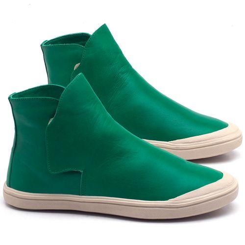 Laranja_Lima_Shoes_Sapatos_Femininos_Tenis_Cano_Alto_em_Couro_Verde_-_Codigo_-_56092_1
