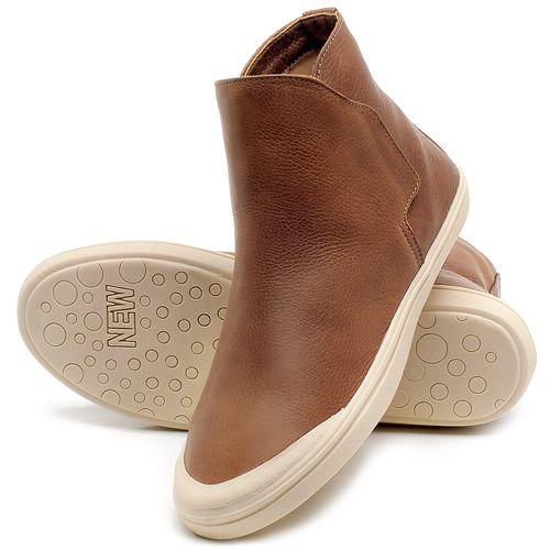 Laranja_Lima_Shoes_Sapatos_Femininos_Tenis_Cano_Alto_em_Couro_Marrom_-_Codigo_-_56092_2