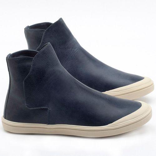 Laranja_Lima_Shoes_Sapatos_Femininos_Tenis_Cano_Alto_em_Couro_Azul_-_Codigo_-_56092_1