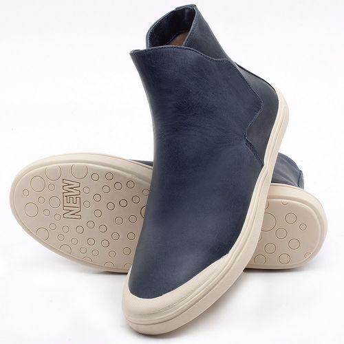 Laranja_Lima_Shoes_Sapatos_Femininos_Tenis_Cano_Alto_em_Couro_Azul_-_Codigo_-_56092_2