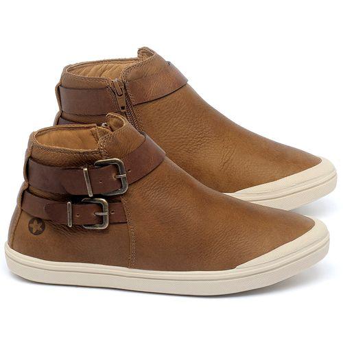 Laranja_Lima_Shoes_Sapatos_Femininos_Tenis_Cano_Alto_em_Couro_Caramelo_-_Codigo_-_56203_1