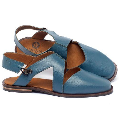 Laranja_Lima_Shoes_Sapatos_Femininos_Sapatilha_Bico_Quadrado_em_Couro_Azul_-_Codigo_-_136082_1