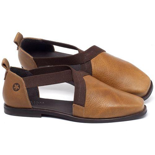 Laranja_Lima_Shoes_Sapatos_Femininos_Sapatilha_Bico_Quadrado_em_Couro_Caramelo_-_Codigo_-_136084_1