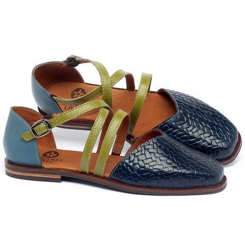 Laranja_Lima_Shoes_Sapatos_Femininos_Sapatilha_Bico_Quadrado_em_Couro_Azul_-_Codigo_-_136086_1