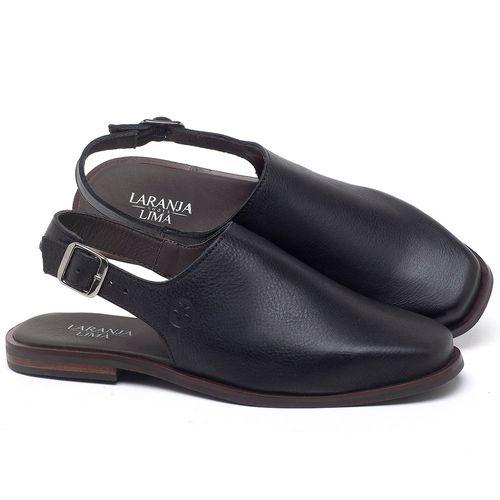 Laranja_Lima_Shoes_Sapatos_Femininos_Sapatilha_Bico_Fino_em_Couro_Preto_-_Codigo_-_136089_1