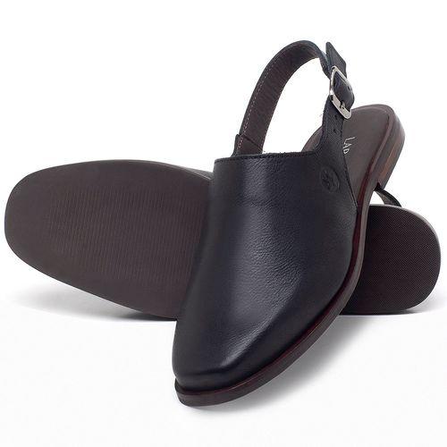 Laranja_Lima_Shoes_Sapatos_Femininos_Sapatilha_Bico_Fino_em_Couro_Preto_-_Codigo_-_136089_2