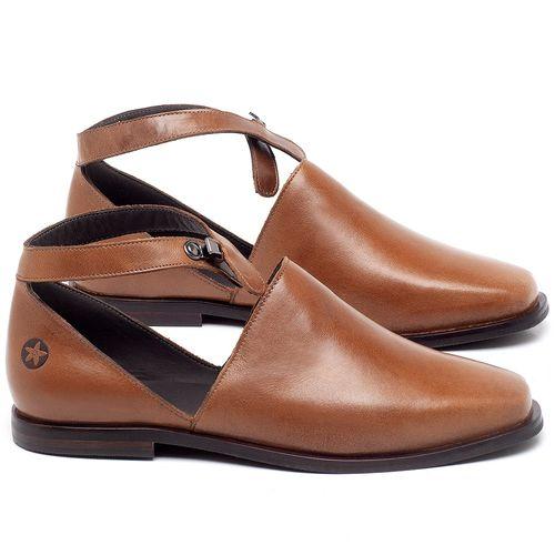 Laranja_Lima_Shoes_Sapatos_Femininos_Sapatilha_Bico_Fino_em_Couro_Caramelo_-_Codigo_-_136090_1