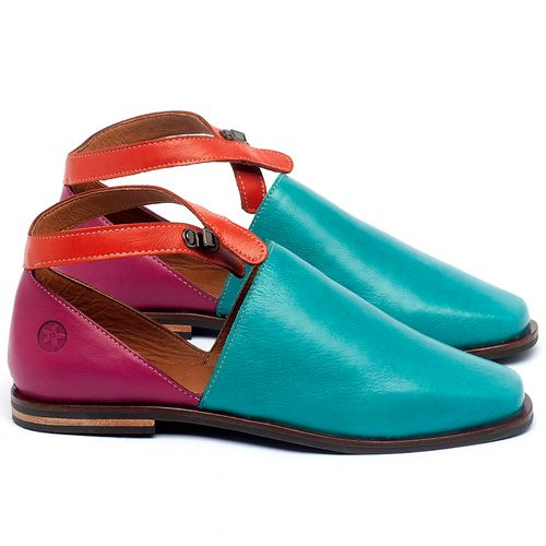 Laranja_Lima_Shoes_Sapatos_Femininos_Sapatilha_Bico_Fino_em_Couro_Colorido_-_Codigo_-_136090_1