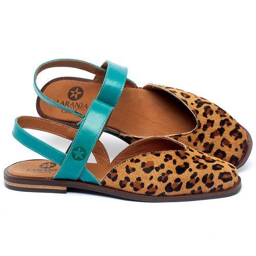 Laranja_Lima_Shoes_Sapatos_Femininos_Sapatilha_Alternativa_em_Couro_Onca_-_Codigo_-_136103_1