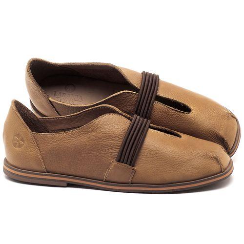 Laranja_Lima_Shoes_Sapatos_Femininos_Sapatilha_Bico_Redondo_em_Couro_Caramelo_-_Codigo_-_3053_1