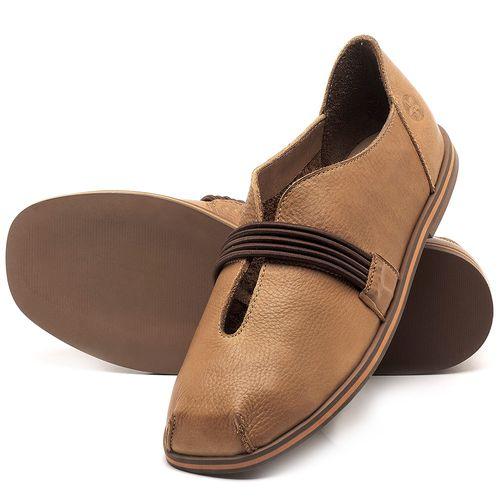 Laranja_Lima_Shoes_Sapatos_Femininos_Sapatilha_Bico_Redondo_em_Couro_Caramelo_-_Codigo_-_3053_2