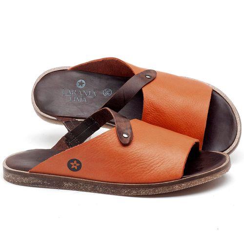 Laranja_Lima_Shoes_Sapatos_Femininos_Sandalia_Rasteira_Flat_em_Couro_Laranja_-_Codigo_-_141056_1