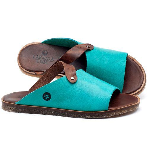 Laranja_Lima_Shoes_Sapatos_Femininos_Sandalia_Rasteira_Flat_em_Couro_Azul_-_Codigo_-_141056_1