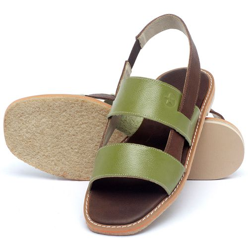 Laranja_Lima_Shoes_Sapatos_Femininos_Sandalia_Rasteira_Flat_em_Couro_Verde_-_Codigo_-_3718_2