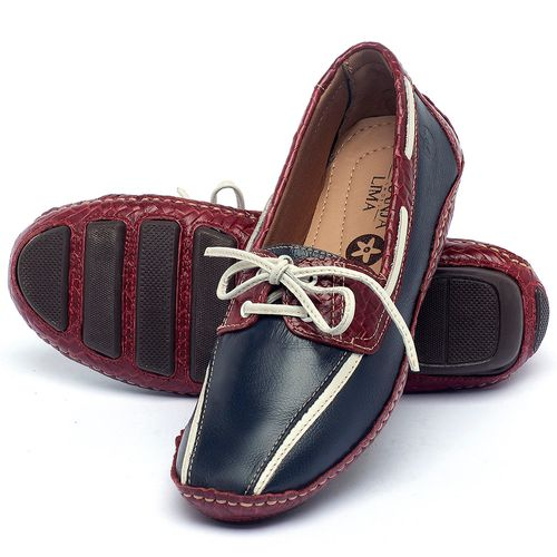 Laranja_Lima_Shoes_Sapatos_Femininos_Dockside_Laranja_Lima_Shoes_em_Couro_Marinho_-_Codigo_-_136005_2