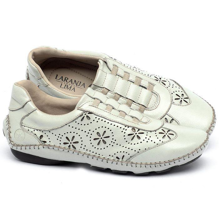 Laranja_Lima_Shoes_Sapatos_Femininos_Tenis_Cano_Baixo_em_Couro_Off-White_-_Codigo_-_136008_1