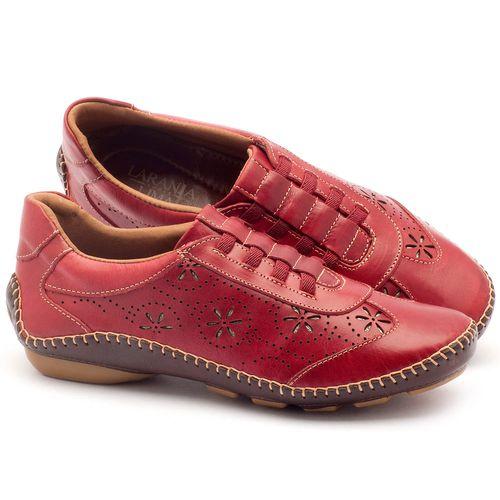 Laranja_Lima_Shoes_Sapatos_Femininos_Tenis_Cano_Baixo_em_Couro_Vermelho_-_Codigo_-_136008_1