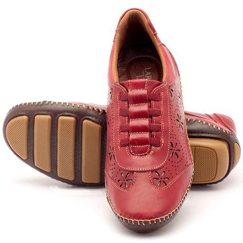 Laranja_Lima_Shoes_Sapatos_Femininos_Tenis_Cano_Baixo_em_Couro_Vermelho_-_Codigo_-_136008_2