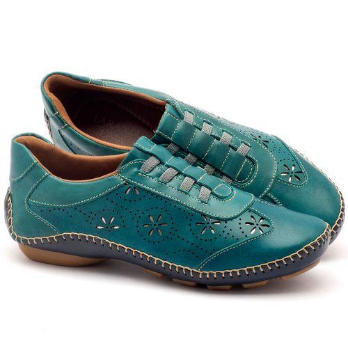 Laranja_Lima_Shoes_Sapatos_Femininos_Tenis_Cano_Baixo_em_Couro_Azul_-_Codigo_-_136008_1