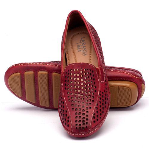 Laranja_Lima_Shoes_Sapatos_Femininos_Dockside_Laranja_Lima_Shoes_em_Couro_Vermelho_-_Codigo_-_136010_2