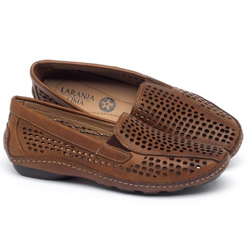 Laranja_Lima_Shoes_Sapatos_Femininos_Dockside_Laranja_Lima_Shoes_em_Couro_Caramelo_-_Codigo_-_136010_1
